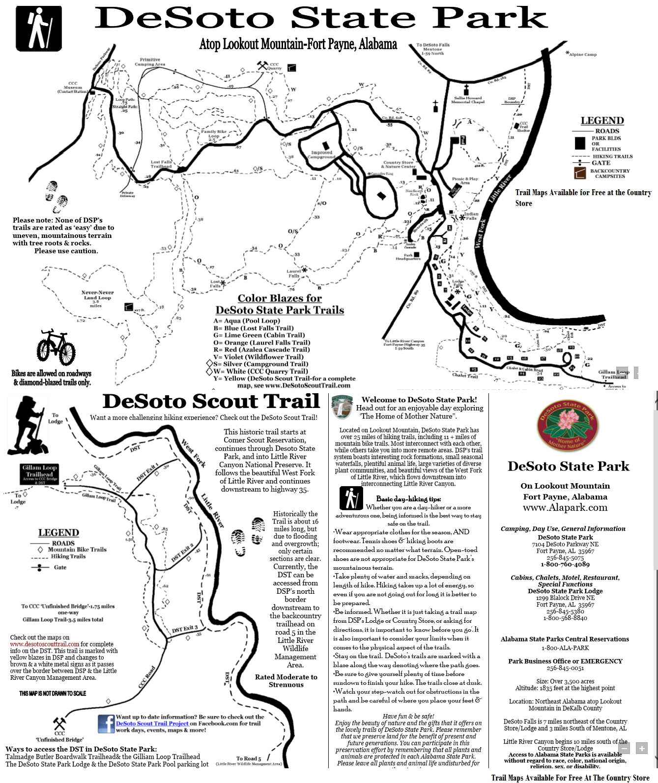 Desoto State Park Hiking Trails